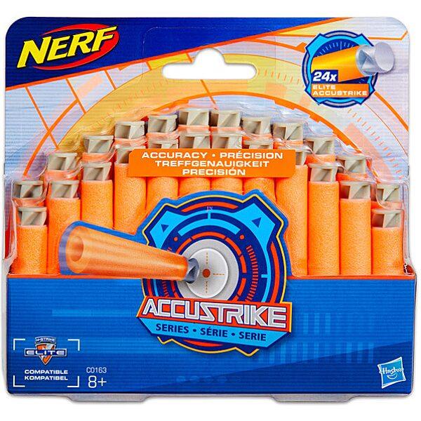 NERF N-Strike Elite Accustrike Series: 24 darabos szivacslövő fegyver utántöltő csomag - 1. Kép