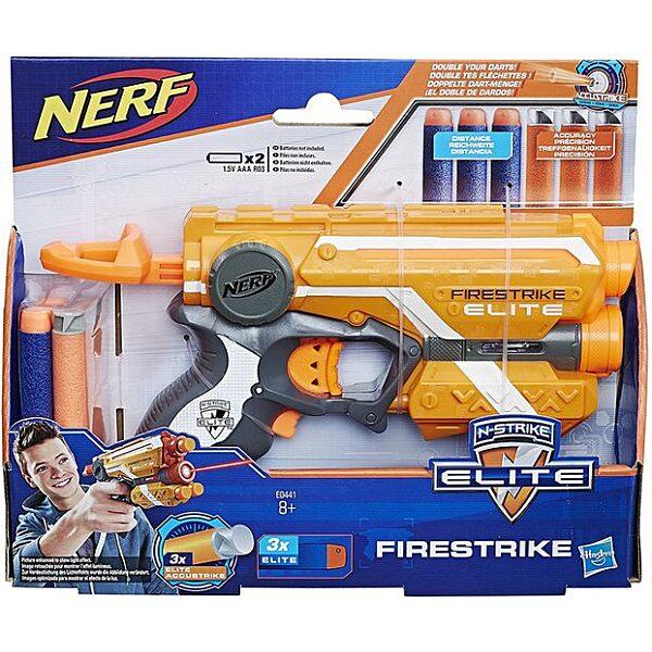 NERF N-Strike Elite: Firestrike szivacslövő pisztoly - több színben - 5. Kép