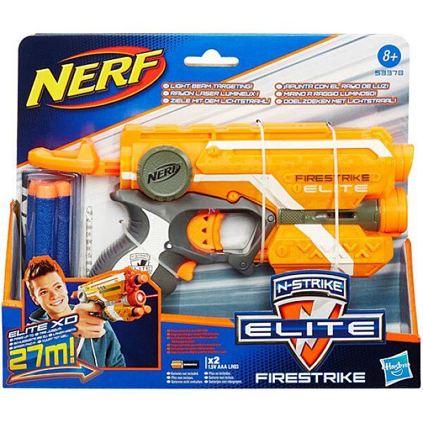 NERF N-Strike Elite: Firestrike szivacslövő pisztoly - több színben - 1. Kép