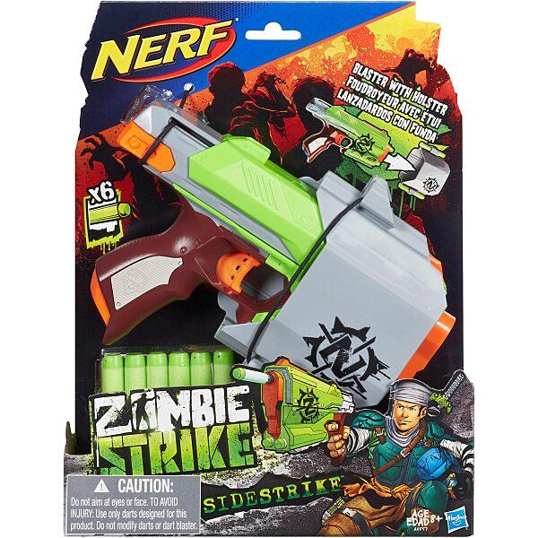 NERF N-Strike Elite Zombie Strike: Sidestrike szivacslövő pisztoly - 4. Kép