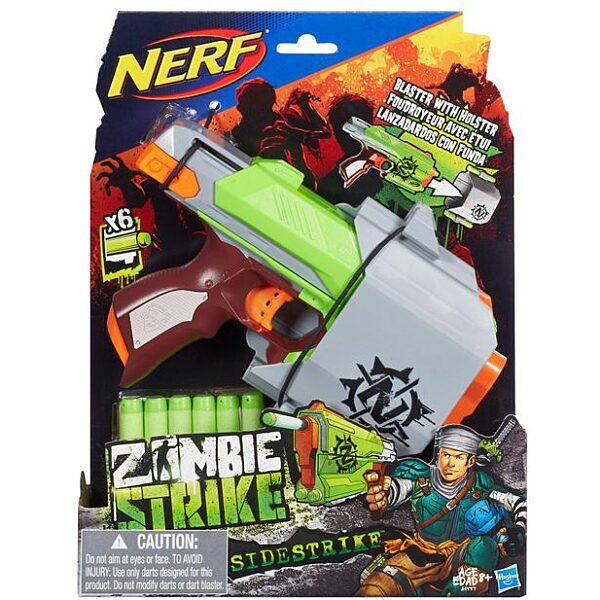 NERF N-Strike Elite Zombie Strike: Sidestrike szivacslövő pisztoly - 5. Kép