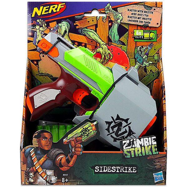 NERF N-Strike Elite Zombie Strike: Sidestrike szivacslövő pisztoly - 1. Kép