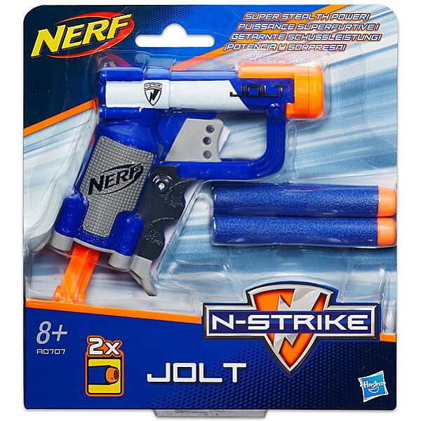 NERF N-Strike: Jolt szivacslövő pisztoly tölténnyel - 1. Kép