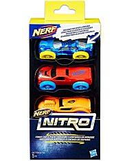 Nerf Nitro - 3 darabos kisautó szett - többféle - 1. Kép