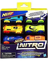 Nerf Nitro - 6 darabos kisautó szett - többféle - 2. Kép