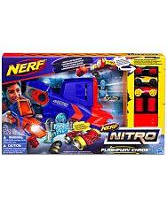 Nerf Nitro: Flashfury Chaos - autó kilövő játékszett - 1. Kép