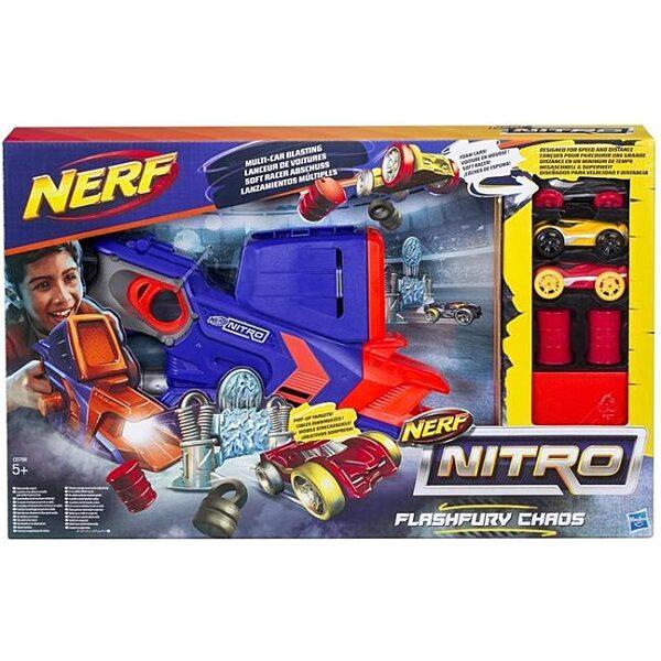 Nerf Nitro: Flashfury Chaos - autó kilövő játékszett - 4. Kép