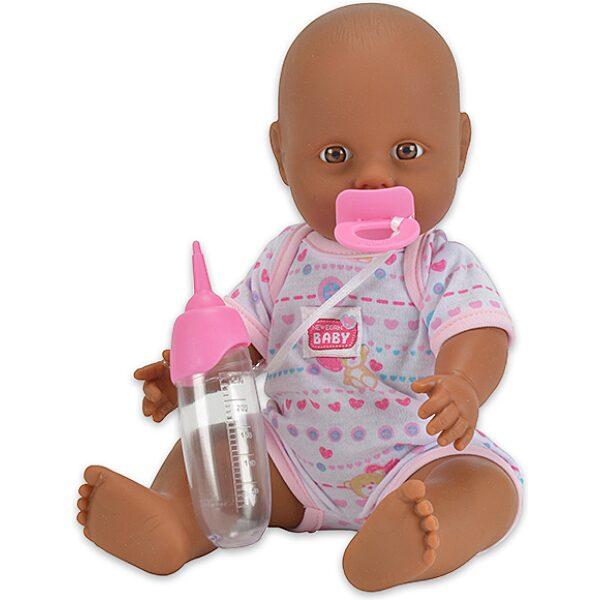 New Born Baby: pisilős barna bőrű baba - 1. Kép