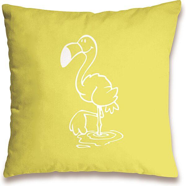 Nici: flamingó mintás párna - 37 x 37 cm - 5. Kép