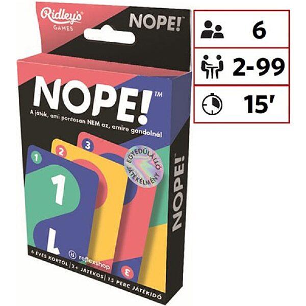 Nope! kártyajáték - 1. Kép