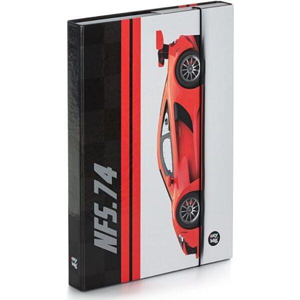 OXY: Autós Füzetbox A4 - 1. Kép