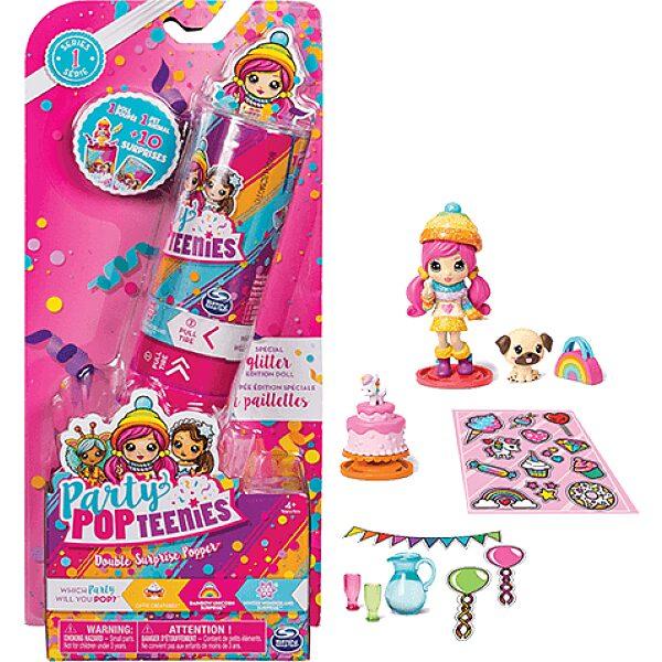 Party Pop Teenies: 2 darabos meglepetés popper konfettivel - 5. Kép