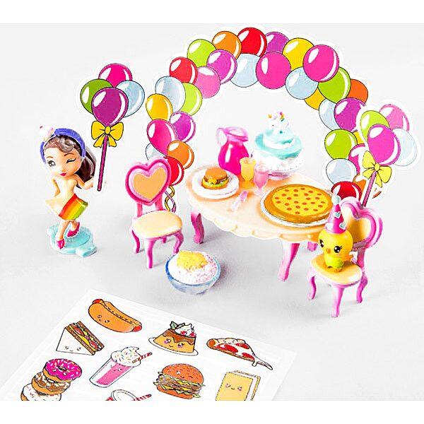 Party Pop Teenies: meglepetés parti doboz konfettivel - 2. Kép