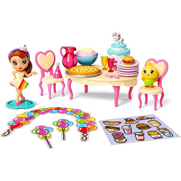 Party Pop Teenies: meglepetés parti doboz konfettivel - 3. Kép