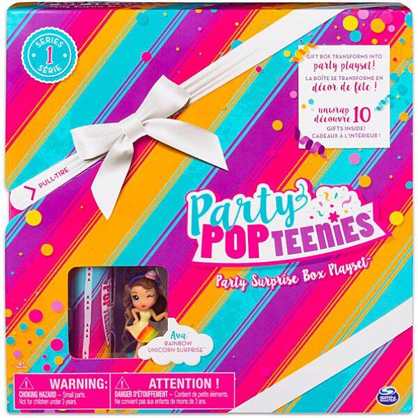 Party Pop Teenies: meglepetés parti doboz konfettivel - 1. Kép