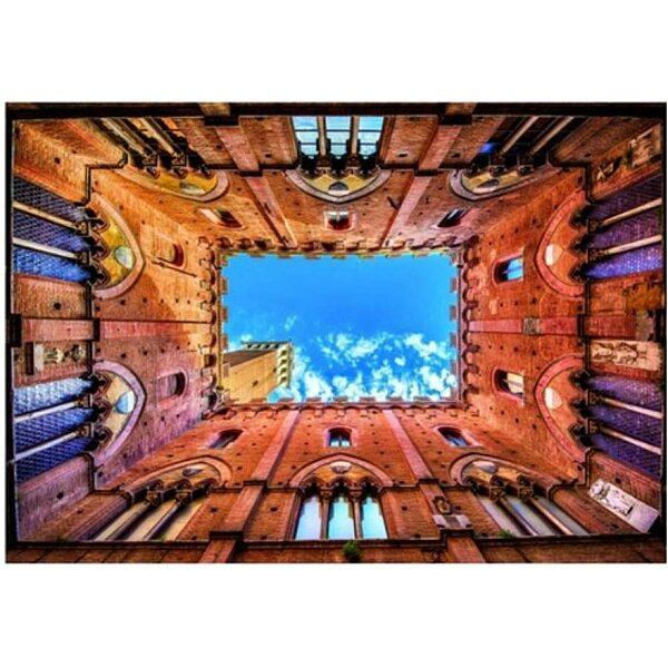 Piatnik puzzle 1000 db - Siena városháza - 3. Kép