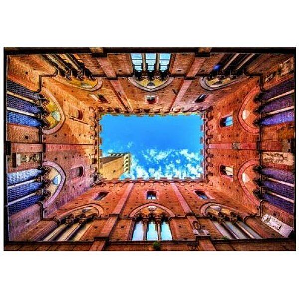 Piatnik puzzle 1000 db - Siena városháza - 1. Kép