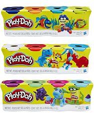Play-Doh: 4 darabos gyurma készlet - divatszínek - 4. Kép