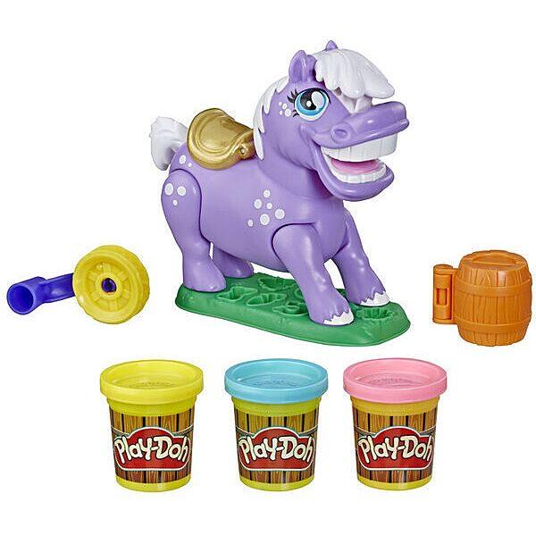 Play-Doh: Animal Crew Naybelle póni gyurmaszett - 2. Kép