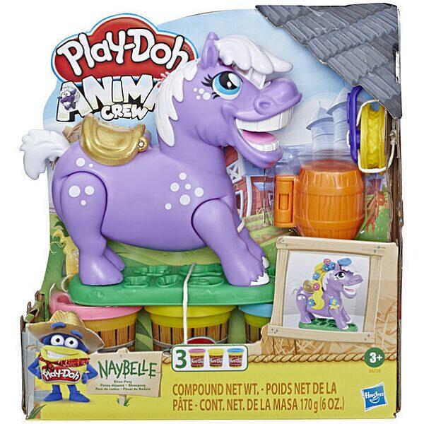 Play-Doh: Animal Crew Naybelle póni gyurmaszett - 1. Kép