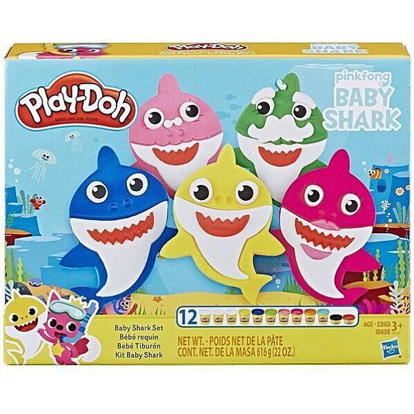 Play-Doh: Baby Shark gyurma szett - 1. Kép