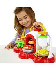 Play-Doh: kemencés pizza sütő gyurmaszett - 2. Kép