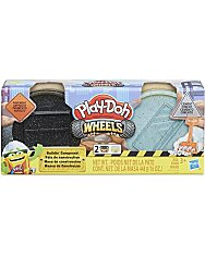 Play-Doh: Kerekek - aszfalt és cement  gyurmakészlet - 1. Kép