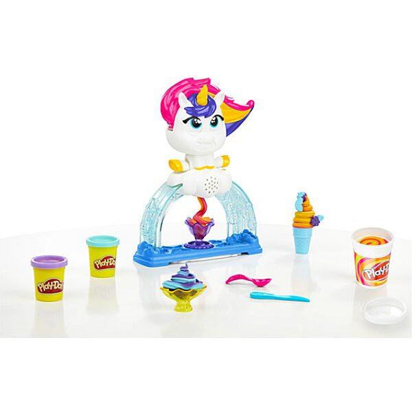 Play-Doh: Unikornisos fagylaltkészítő gyurmaszett - 1. Kép