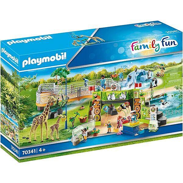 Playmobil: A Kaland állatkert 70341 - 1. Kép