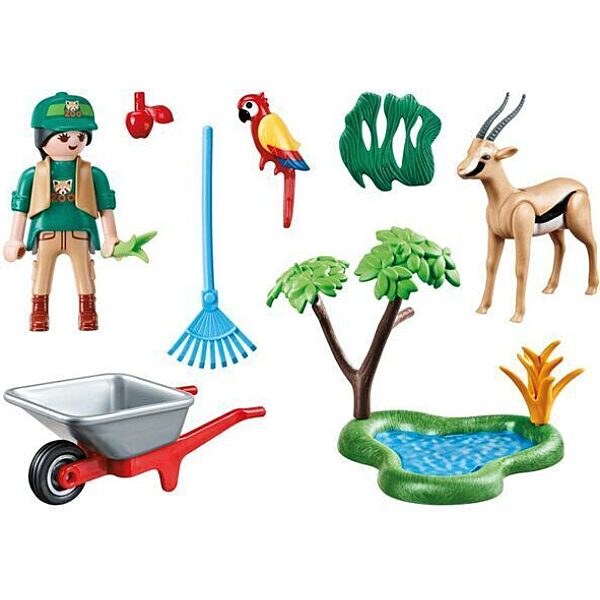Playmobil: Állatgondozó 70295 - 3. Kép