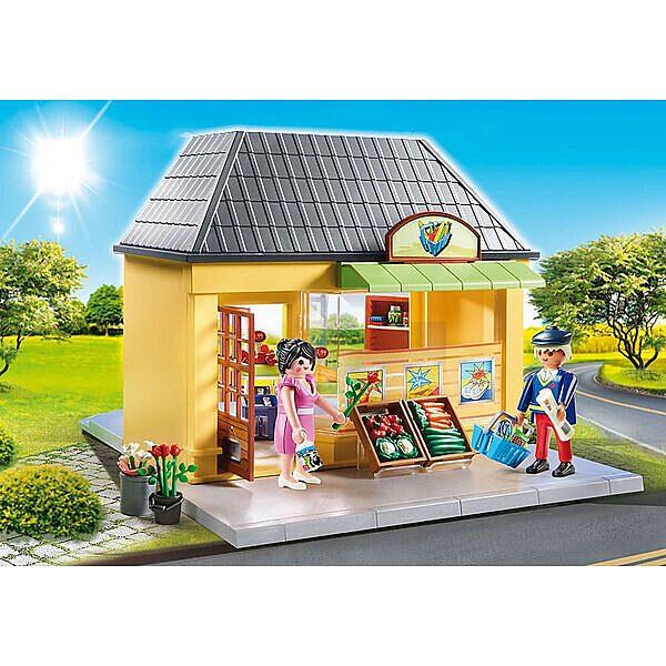 Playmobil City Life: Az én szupermarketem 70375 - 3. Kép