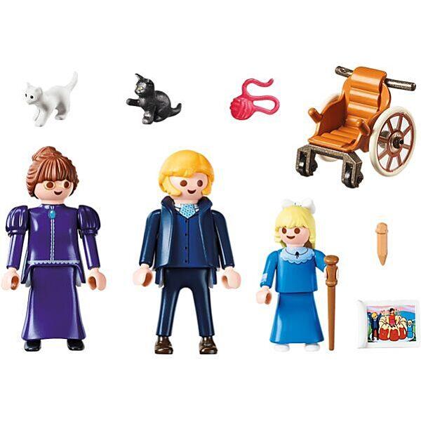 Playmobil Heidi: Clara apukájával és Rottenmeier kisasszonnyal 70258 - 2. Kép