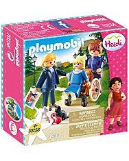 Playmobil Heidi: Clara apukájával és Rottenmeier kisasszonnyal 70258 - 1. Kép