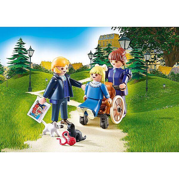 Playmobil Heidi: Clara apukájával és Rottenmeier kisasszonnyal 70258 - 3. Kép