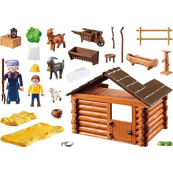 Playmobil Heidi: Peter kecskeólja 70255 - 2. Kép