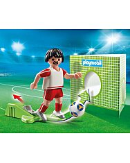 Playmobil: Lengyel válogatott focista 70486 - 2. Kép
