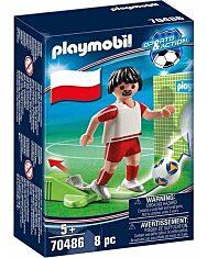 Playmobil: Lengyel válogatott focista 70486 - 1. Kép