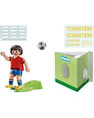 Playmobil: Spanyol válogatott focista 70482 - 2. Kép