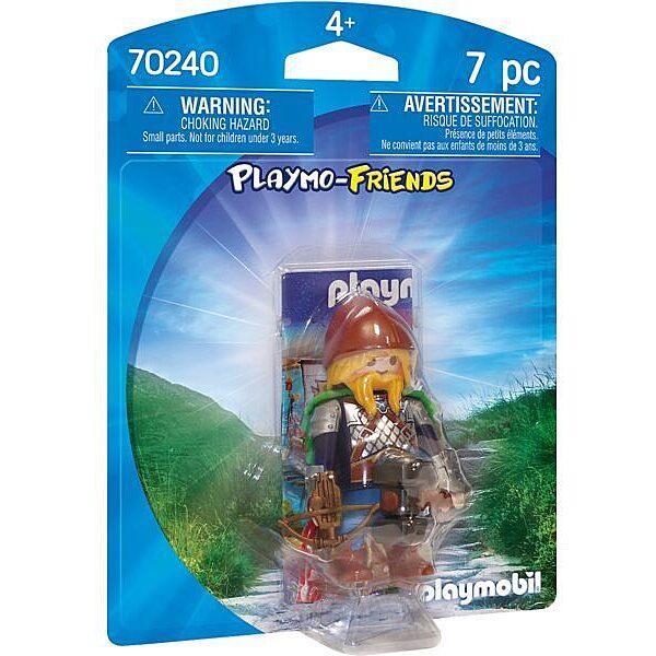 Playmobil: Törpe harcos pöröllyel és nyílpuskával 70240 - 1. Kép