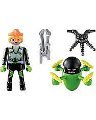 Playmobil: Ügynök drónnal 70248 - 2. Kép