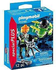 Playmobil: Ügynök drónnal 70248 - 1. Kép