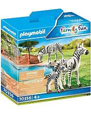 Playmobil: Zebracsalád 70356 - 1. Kép