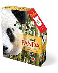 Puzzle 550 Db: Panda - 1. Kép