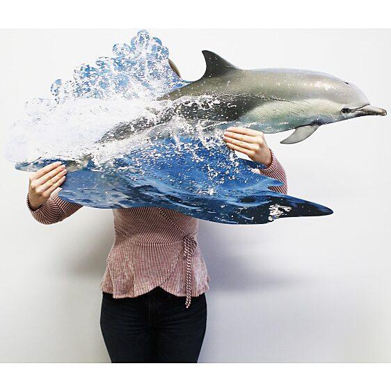 Puzzle Junior 100 Db: Delfin - 1. Kép