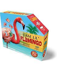 Puzzle Junior 100 Db: Flamingó - 2. Kép