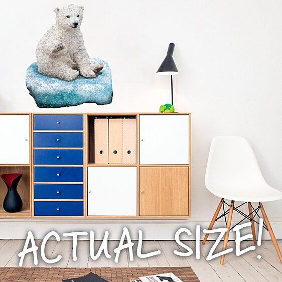 Puzzle Junior 100 Db: Jegesmedve - 3. Kép