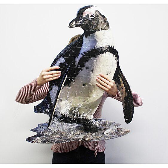 Puzzle Junior 100 Db: Pingvin - 1. Kép