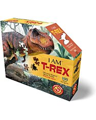 Puzzle Junior 100 Db: T-Rex - 1. Kép
