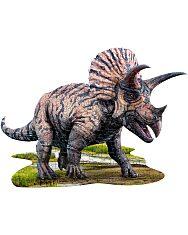 Puzzle Junior 100 Db: Triceratops - 2. Kép