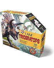 Puzzle Junior 100 Db: Triceratops - 1. Kép